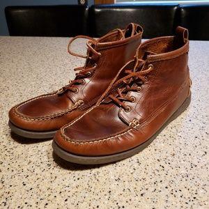 Sebago SZ 11.5 leather boots